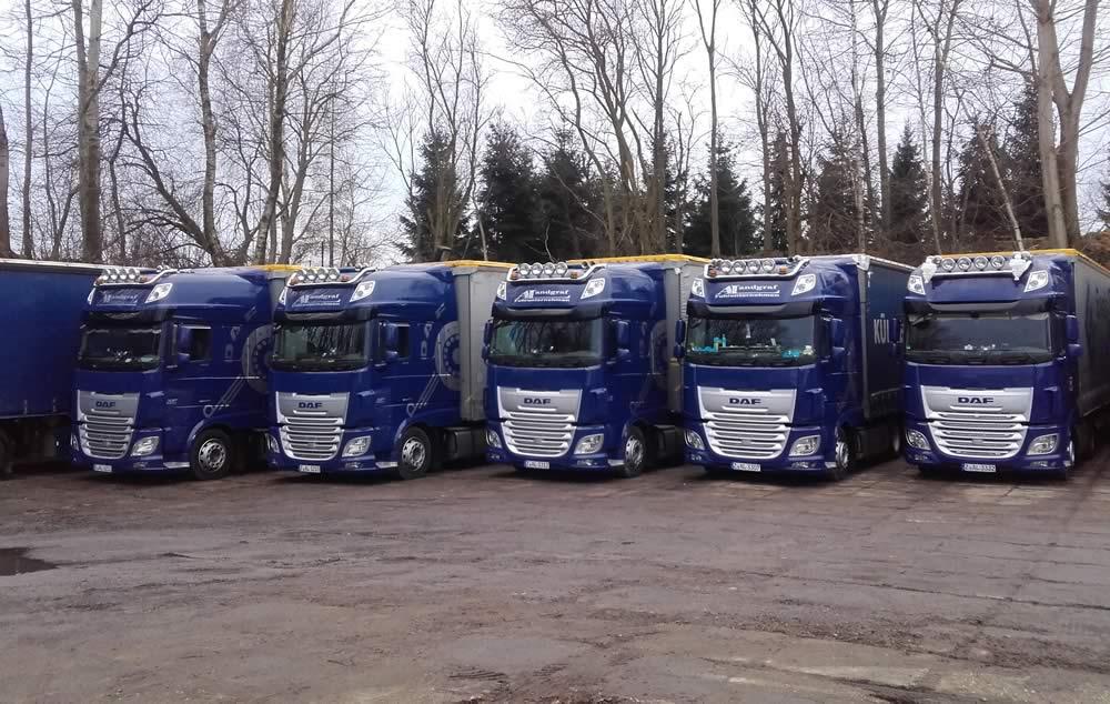 Trucks Fuhrunternehmen Landgraf