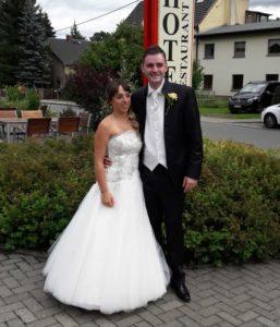 Unser Hochzeitspaar