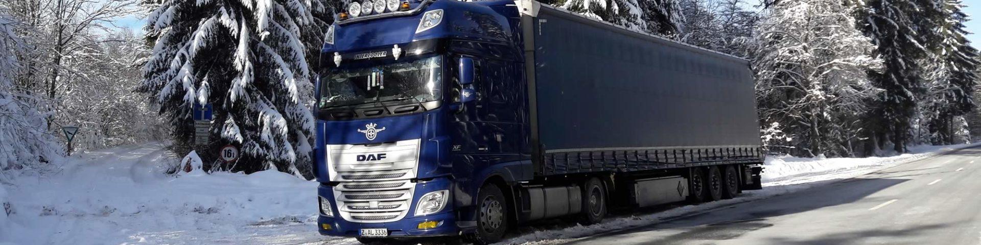 Unsere Trucks unterwegs